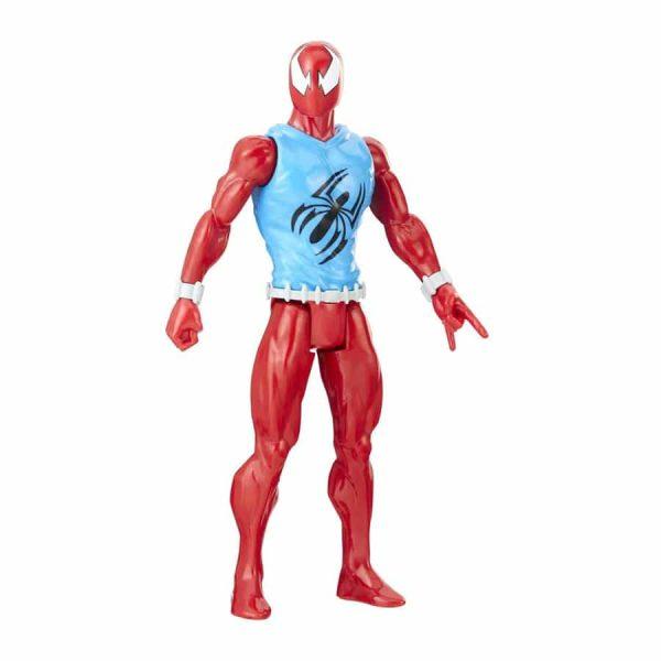 Spider-Man:Titan Hero Series Marvel's Scarlet Spider Figure