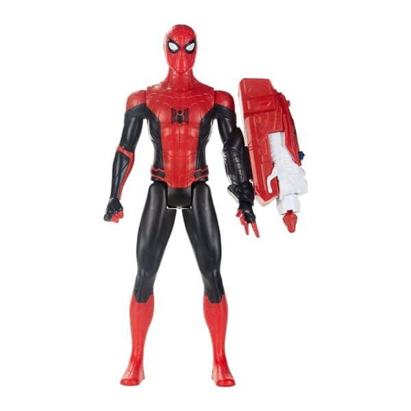 Spider-Man: Far from Home: Titan Hero Series Figure (Black & Red Suit)