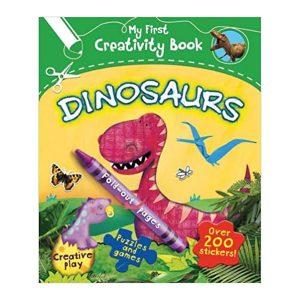 My First Creativity Book: Dinosaurs Paperback