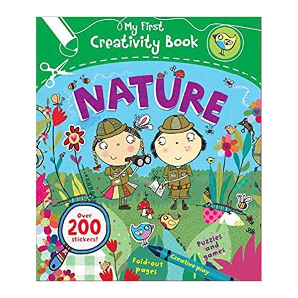 My First Creativity Book: Nature Paperback