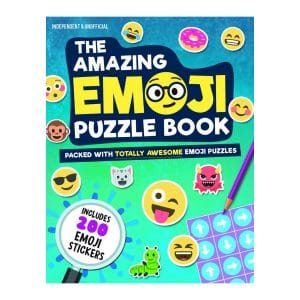 Amazing Emoji Puzzle Book: Packed With Totally Awesome Emoji Puzzles and 200 Emoji Stickers Paperback