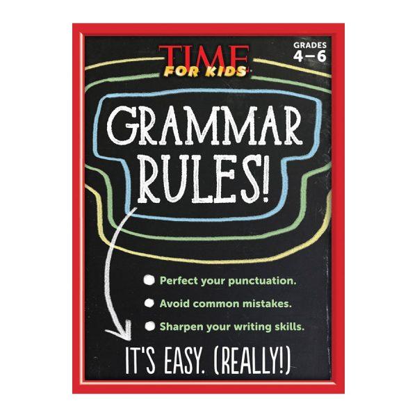 TIME For Kids Grammar Rules! Paperback