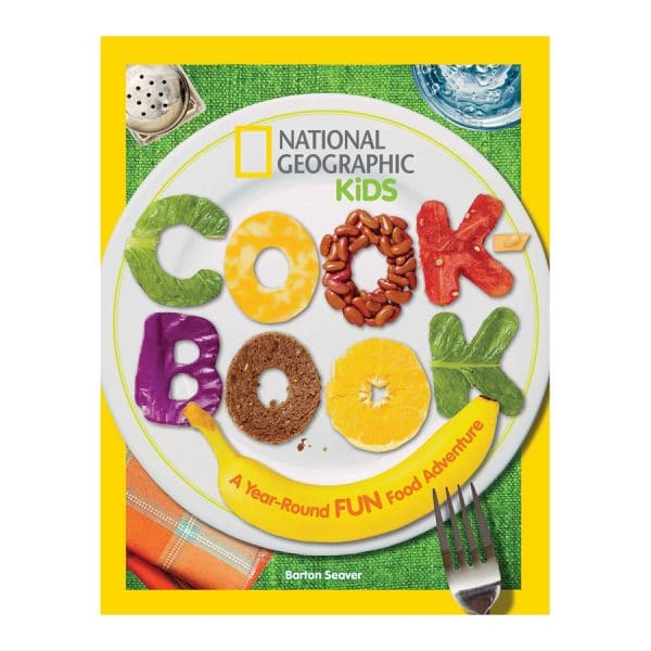 National Geographic Kids Cookbook: A Year-Round Fun Food Adventure Paperback