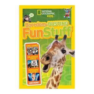 Boredom-Busting Fun Stuff: Cool Games, Hilarious Jokes, Awesome Quizzes, and More! Paperback