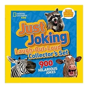 National Geographic Kids Just Joking Laugh-Out-Loud Collector's Set: 900 Hilarious Jokes Paperback