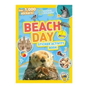 National Geographic Kids Beach Day Sticker Activity Book Paperback