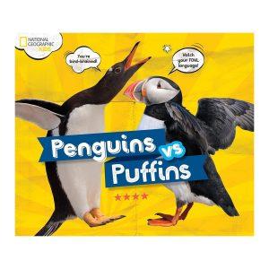 Penguins vs. Puffins Hardcover