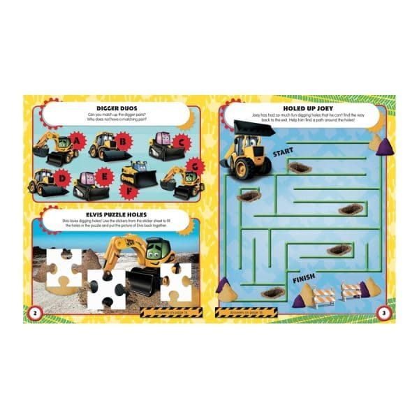 Ultimate Machines Sticker and Activity Fun Paperback
