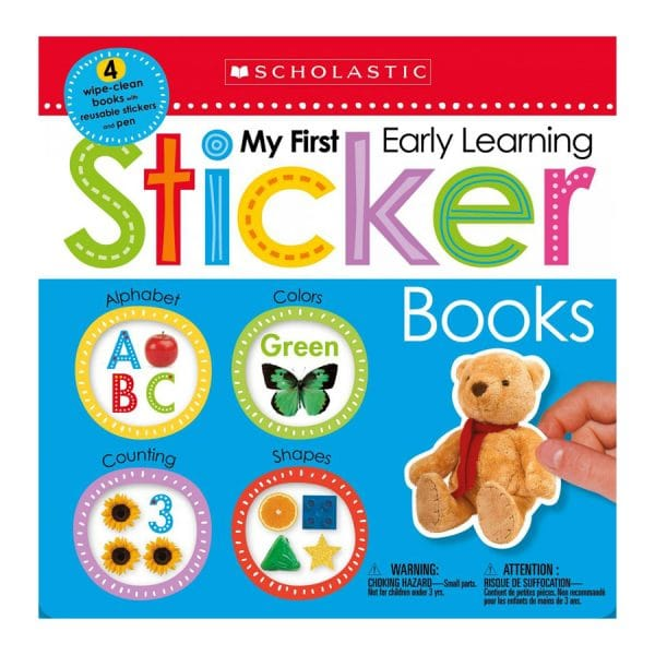 My First Early Learning Sticker Books Box Set