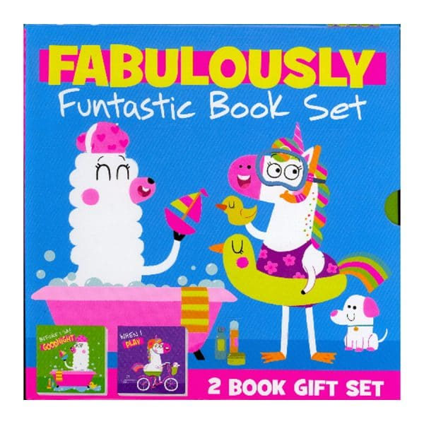 Fabulously Funtastic Book Set (Before I Say Goodnight & When I Play)