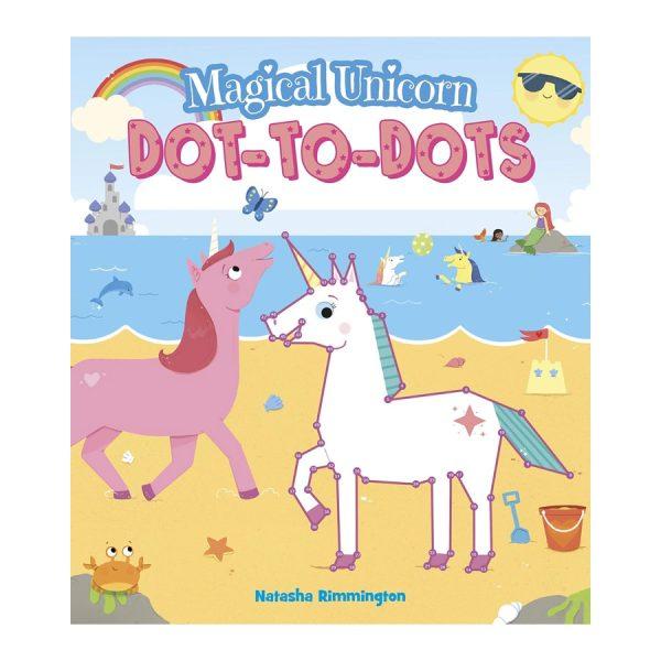 Magical Unicorn Dot-To-Dots Paperback
