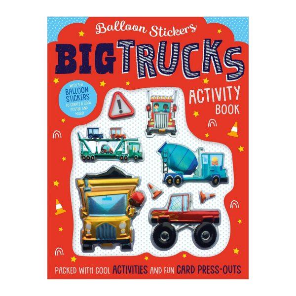 Big Trucks Activity Book Paperback