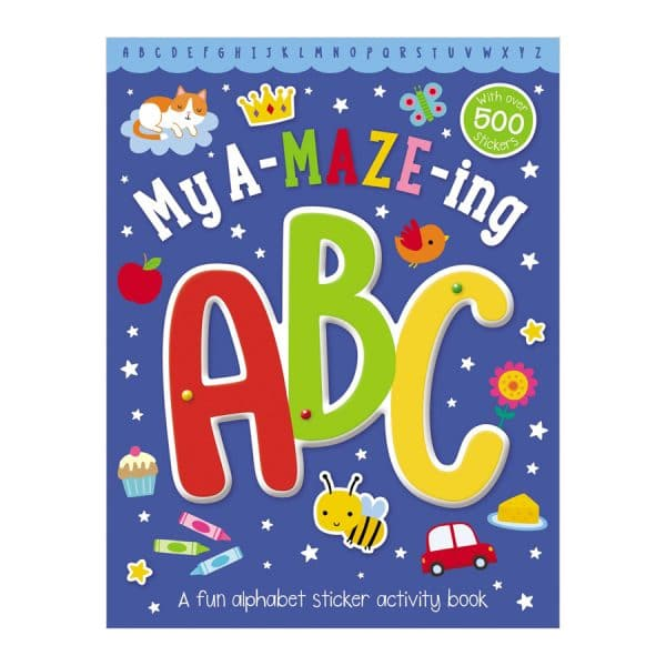 My A-Maze-Ing ABC Activity Book Paperback