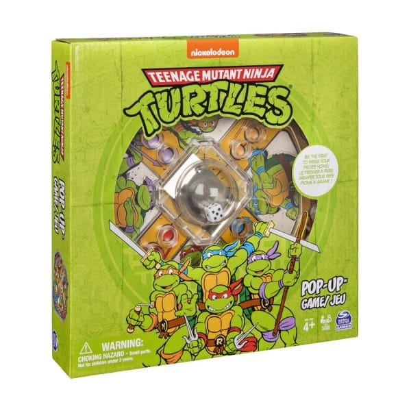 Teenage Mutant Ninja Turtles Pop Up Game