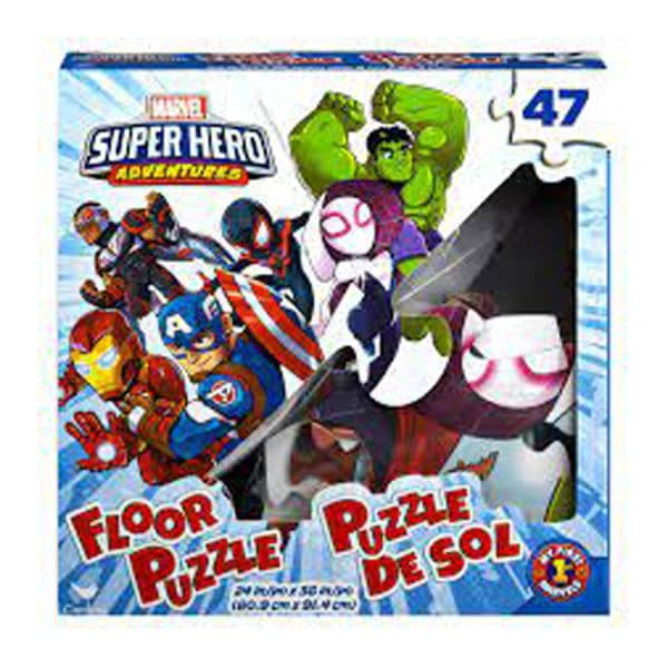 Marvel Super Hero Adventures 47 Piece Floor Puzzle