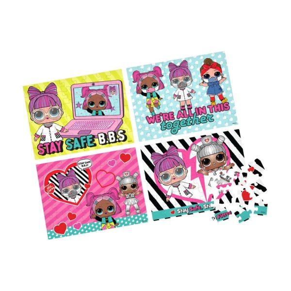 LOL Surprise! 4 Puzzle Pack