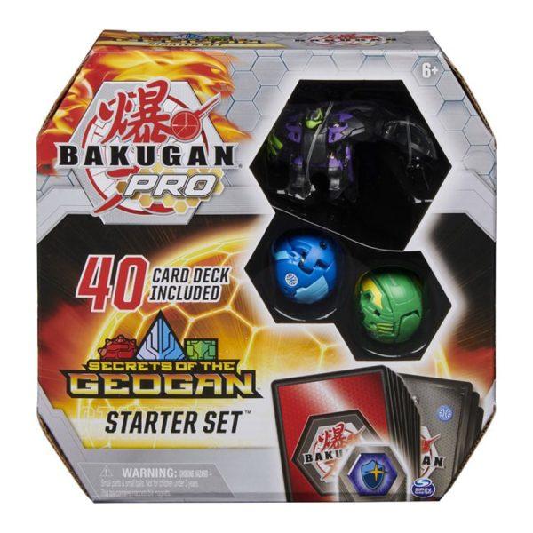 Bakugan Pro Secrets of the Geogan Starter Set with Falcron Ultra