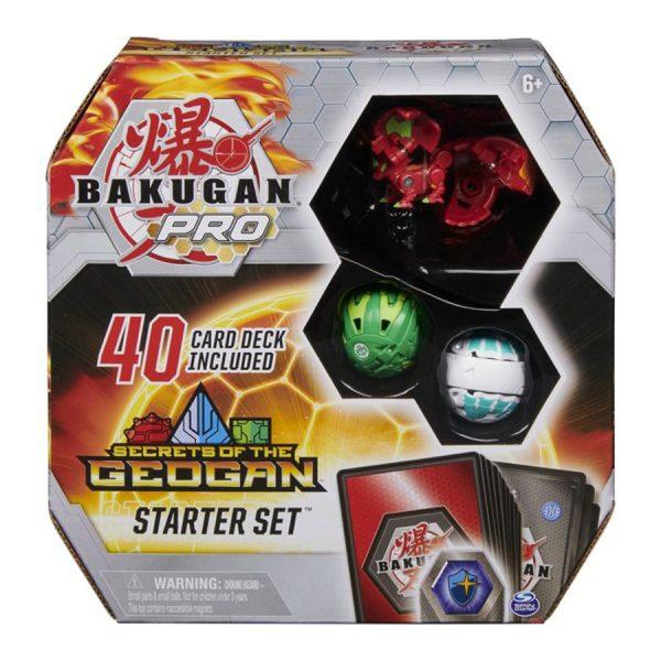 Bakugan Pro Secrets of the Geogan Starter Set with Fenneca Ultra