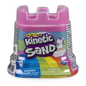 Kinetic Sand Rainbow Unicorn Castle (5 oz)
