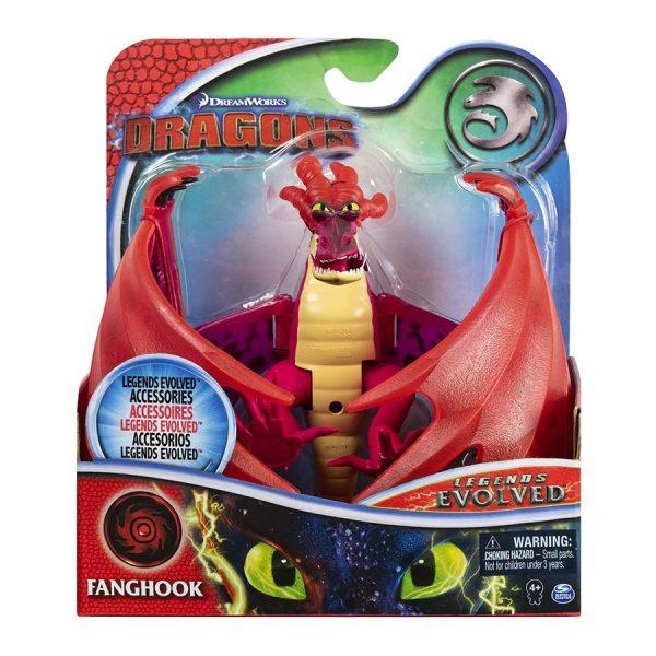 DreamWorks Dragons Legends Evolved Fanghook