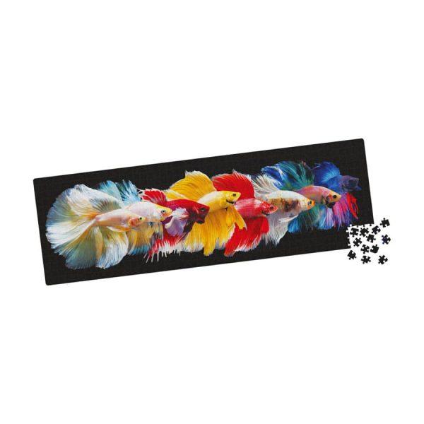 Big Ben Luxe 750 Piece Panorama Siamese Fighting Fish Jigsaw Puzzle