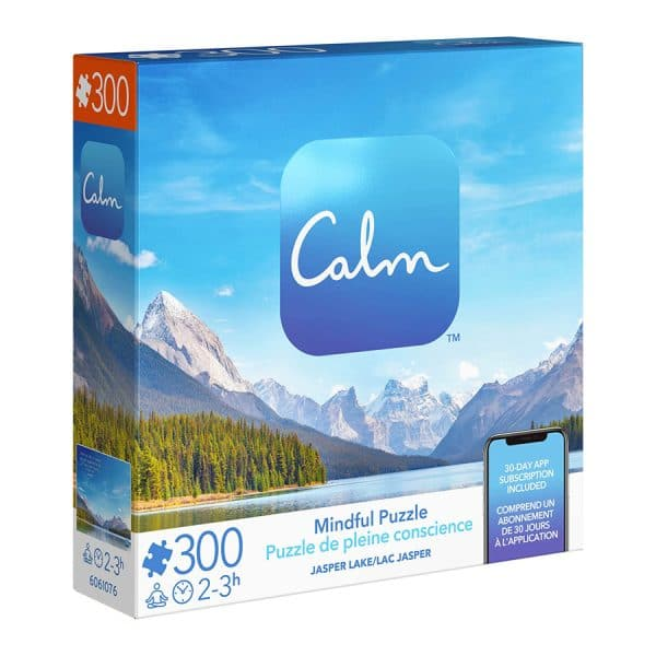 Calm 300 Piece Mindful Jigsaw Puzzle