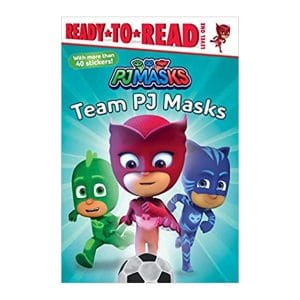Team PJ Masks: Ready-to-Read Level 1 Paperback