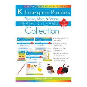 Kindergarten Readiness Collection Reading, Math & Writing (Ready to Learn)