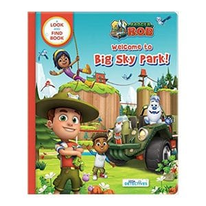 Ranger Rob at Big Sky Park (Little Detectives): A Look and Find Book Board book