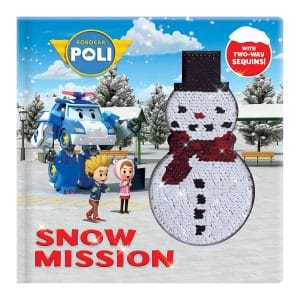 Robocar Poli: Snow Mission: With 2-Way Sequins! Hardcover