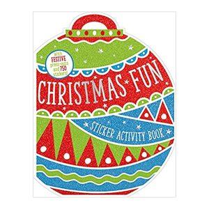 Christmas Fun Sticker Activity Book